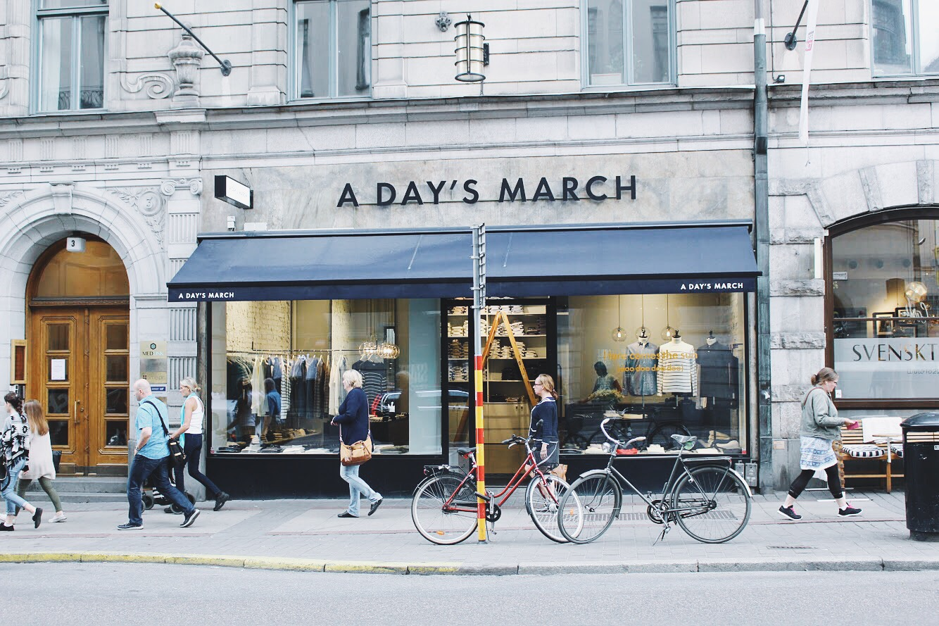 The Forte In Stockholm – Places To Shop – A Days March